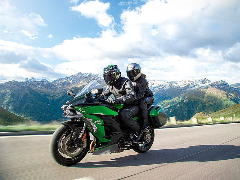 2021 Kawasaki Ninja H2 SX SE+ in Lancaster, Texas - Photo 7