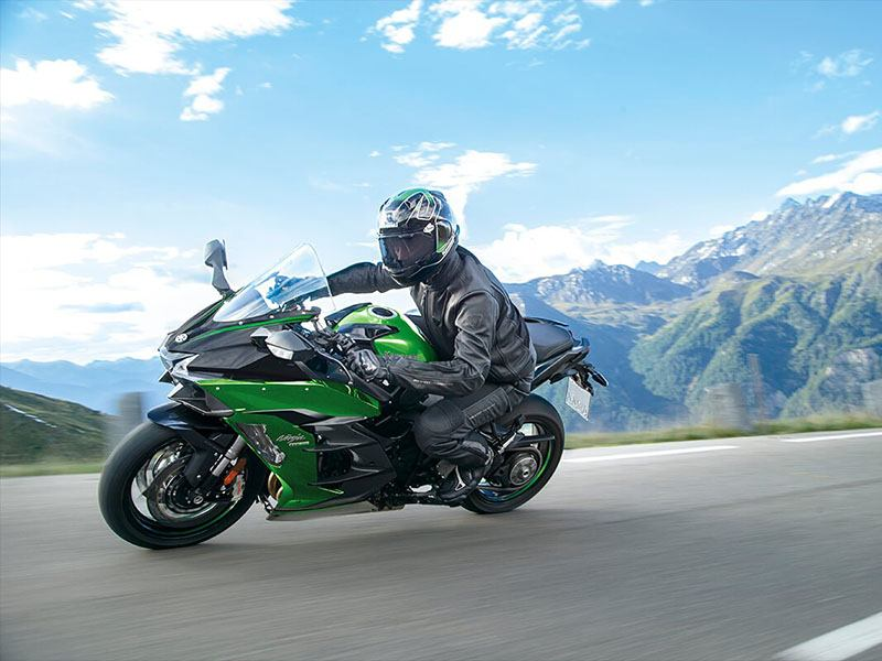 2021 Kawasaki Ninja H2 SX SE+ in O Fallon, Illinois - Photo 8