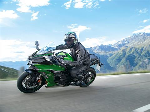 2021 Kawasaki Ninja H2 SX SE+ in Brunswick, Georgia - Photo 8