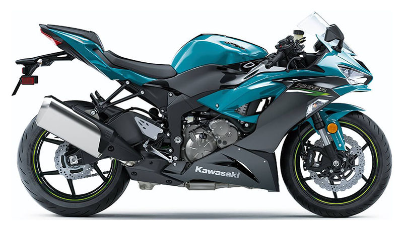 2021 Kawasaki Ninja ZX-6R ABS in Colorado Springs, Colorado