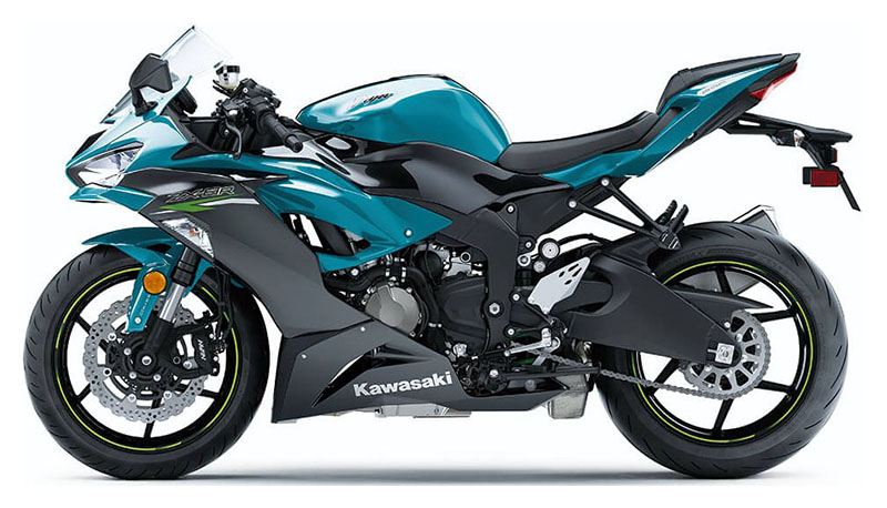 2021 Kawasaki Ninja ZX-6R ABS in Kirksville, Missouri - Photo 2