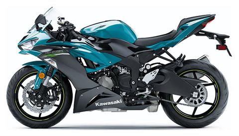 2021 Kawasaki Ninja ZX-6R ABS in Lafayette, Louisiana - Photo 2
