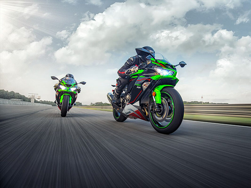 2021 Kawasaki Ninja ZX-6R ABS KRT Edition in Moses Lake, Washington