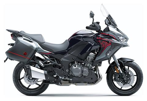 2021 Kawasaki Versys 1000 SE LT+ in Plymouth, Massachusetts