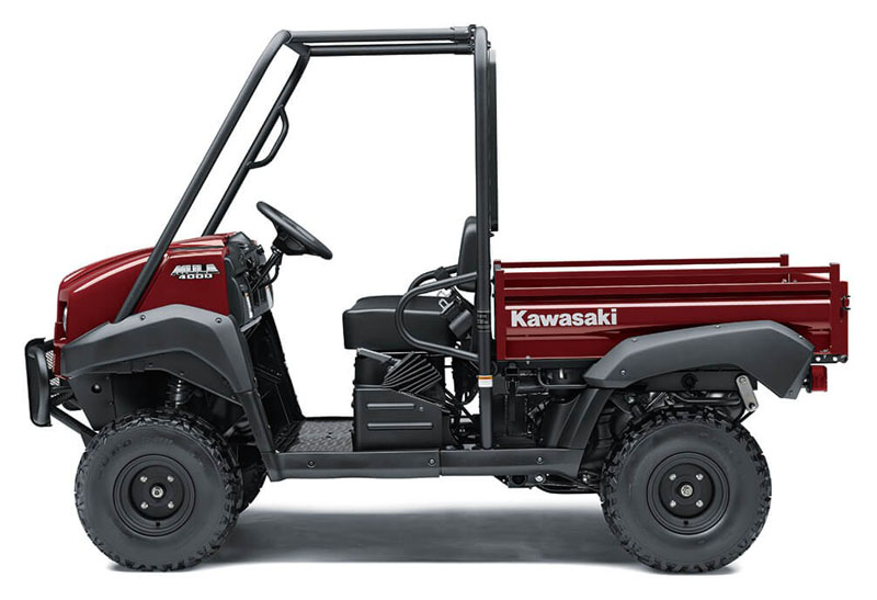 2021 Kawasaki Mule 4000 in Plymouth, Massachusetts - Photo 2