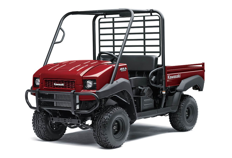 2021 Kawasaki Mule 4000 in Plymouth, Massachusetts - Photo 3