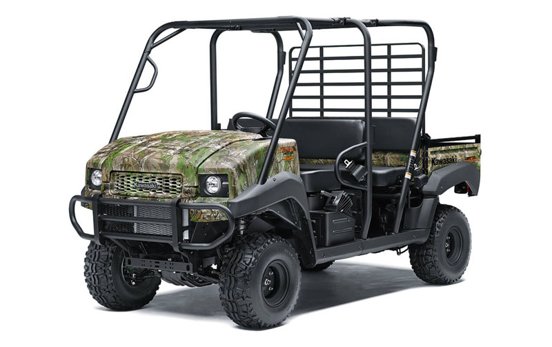 2021 Kawasaki Mule 4010 Trans4x4 Camo in Corona, California - Photo 3