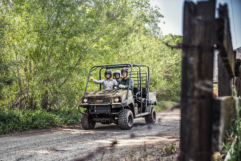 2021 Kawasaki Mule 4010 Trans4x4 Camo in San Jose, California - Photo 4