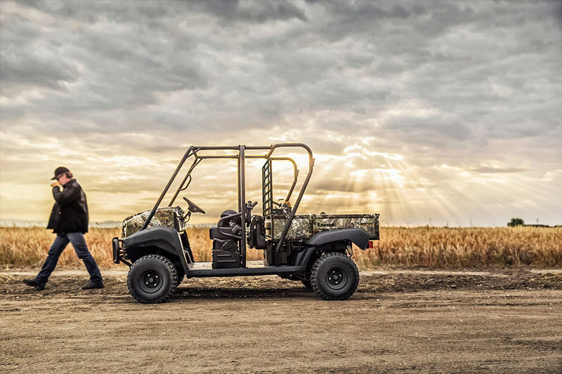 2021 Kawasaki Mule 4010 Trans4x4 Camo in San Jose, California - Photo 5