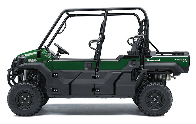 2021 Kawasaki Mule PRO-DXT EPS Diesel in West Burlington, Iowa - Photo 2