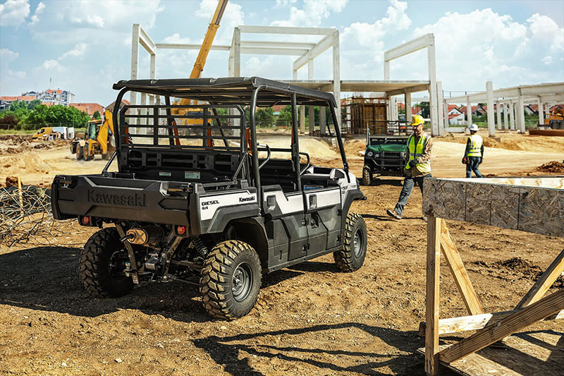 2021 Kawasaki Mule PRO-DXT EPS Diesel FE in Tarentum, Pennsylvania - Photo 4