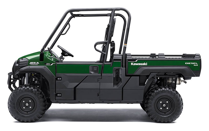 2021 Kawasaki Mule PRO-DX EPS Diesel in Brunswick, Georgia - Photo 2