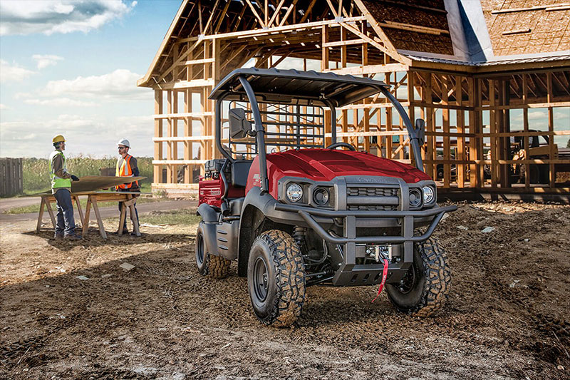 2021 Kawasaki Mule SX 4x4 FI in South Paris, Maine - Photo 4