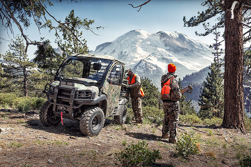 2021 Kawasaki Mule SX 4X4 XC Camo FI in Bellingham, Washington - Photo 8