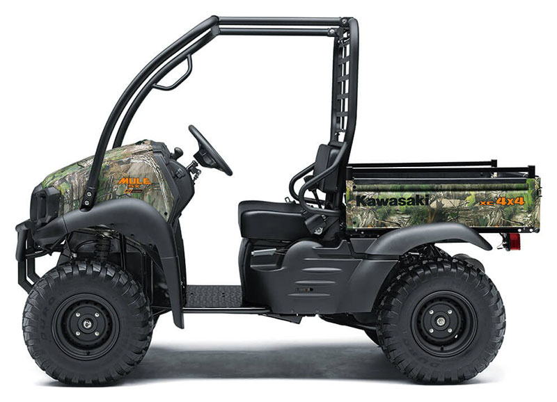 2021 Kawasaki Mule SX 4X4 XC Camo FI in Ashland, Kentucky - Photo 2