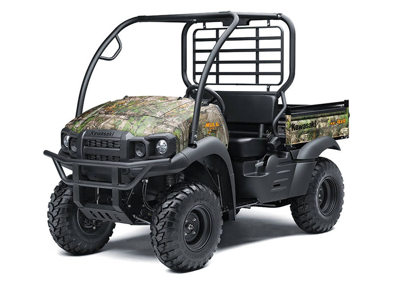 2021 Kawasaki Mule SX 4X4 XC Camo FI in North Reading, Massachusetts - Photo 3