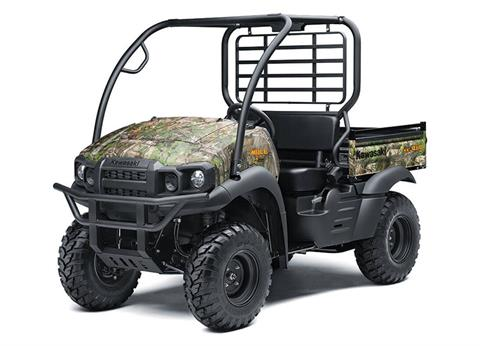 2021 Kawasaki Mule SX 4X4 XC Camo FI in San Jose, California - Photo 3