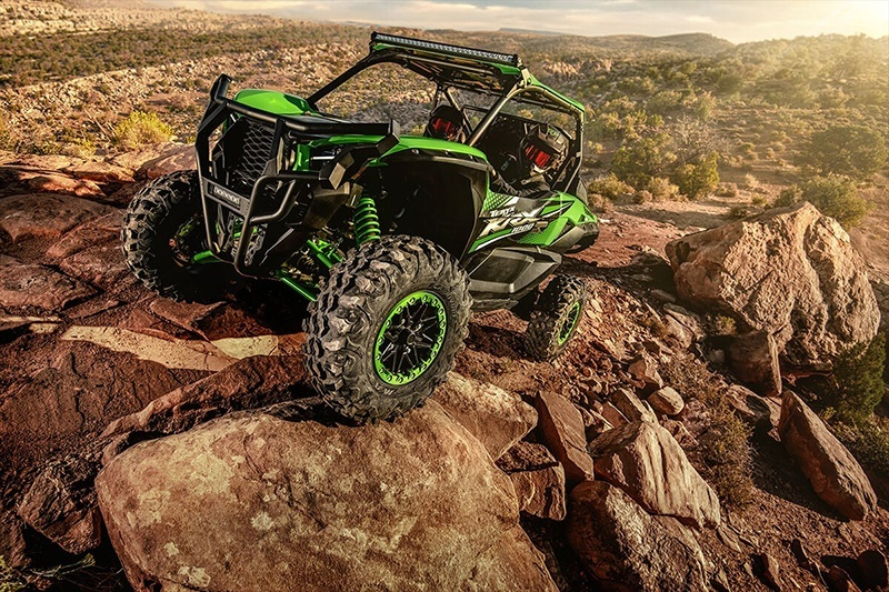 2020 Kawasaki Teryx KRX 1000 with Factory Installed Accessories in Gonzales, Louisiana