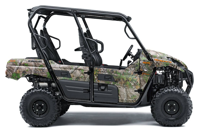 2021 Kawasaki Teryx4 Camo in South Paris, Maine - Photo 1