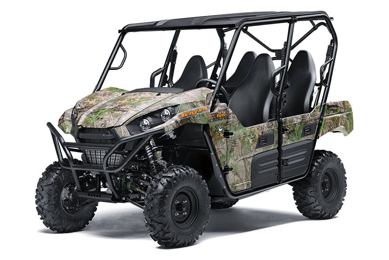 2021 Kawasaki Teryx4 Camo in Merced, California - Photo 3