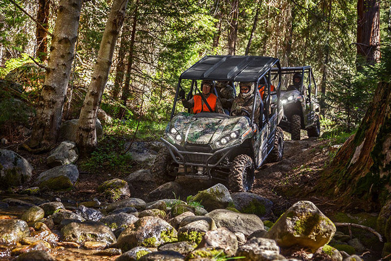 2021 Kawasaki Teryx4 Camo in South Paris, Maine - Photo 4