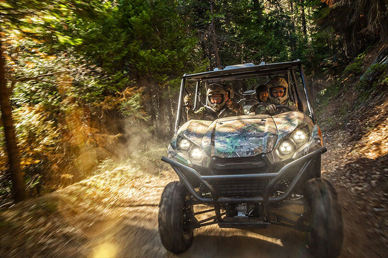 2021 Kawasaki Teryx4 Camo in New York, New York - Photo 5