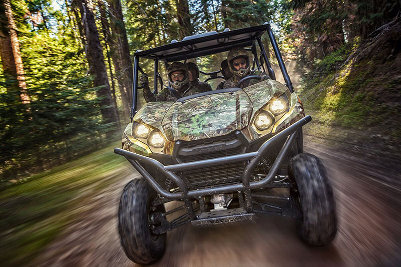 2021 Kawasaki Teryx4 Camo in South Paris, Maine - Photo 6