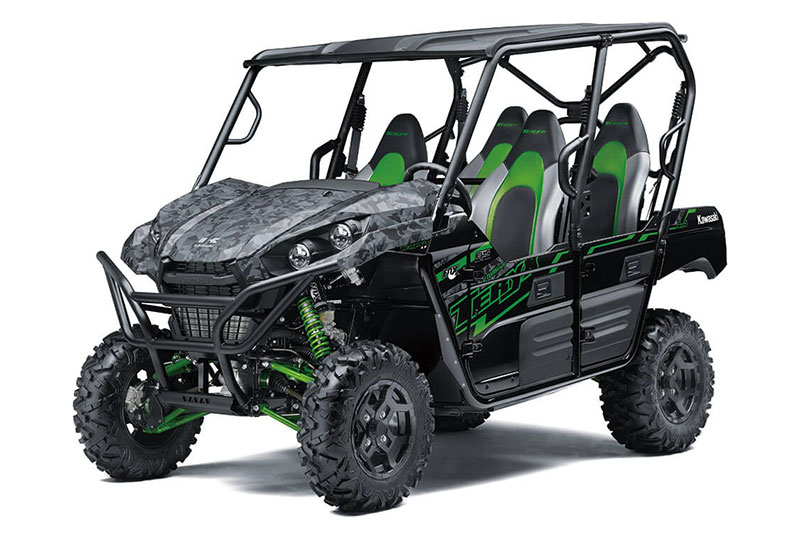 2021 Kawasaki Teryx4 LE in Cambridge, Ohio - Photo 3