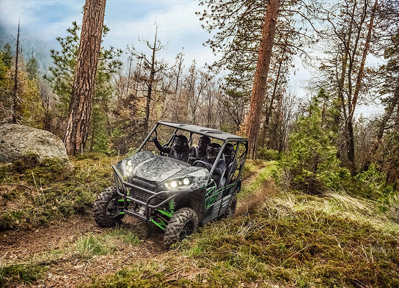 2021 Kawasaki Teryx4 LE in South Paris, Maine - Photo 4