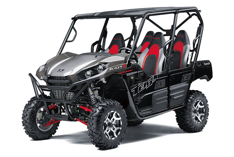 2021 Kawasaki Teryx4 LE in San Jose, California - Photo 3