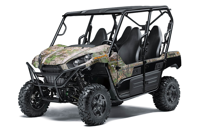 2021 Kawasaki Teryx4 S Camo in Norfolk, Virginia - Photo 3