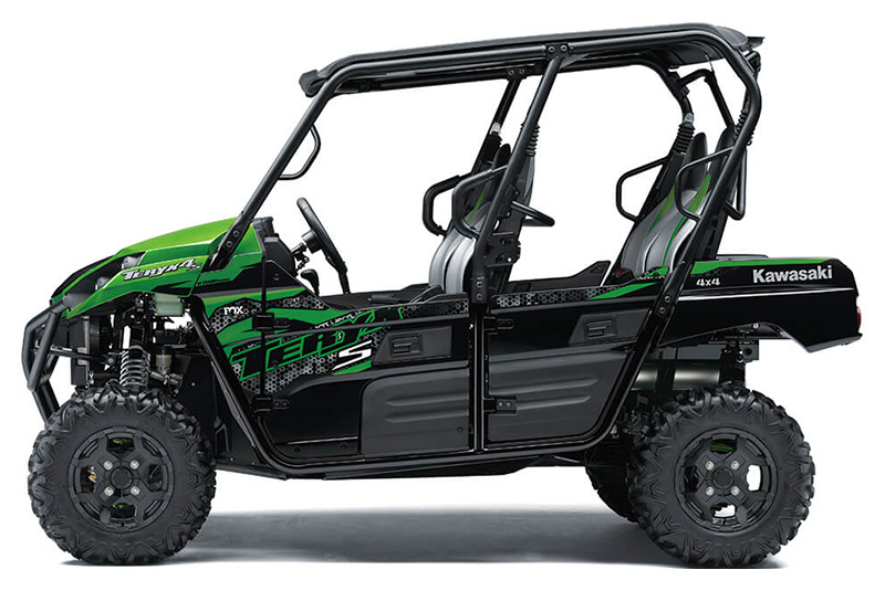 2021 Kawasaki Teryx4 S LE in San Jose, California - Photo 2