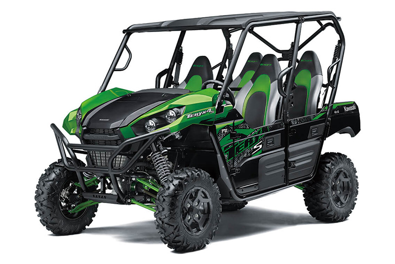 2021 Kawasaki Teryx4 S LE in Iowa City, Iowa - Photo 3