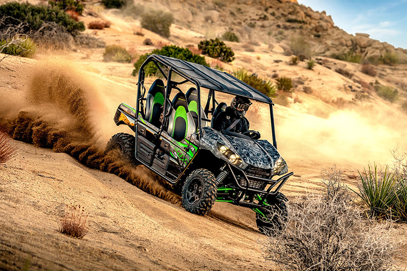2021 Kawasaki Teryx4 S LE in Merced, California - Photo 7