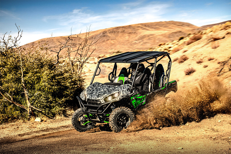 2021 Kawasaki Teryx4 S LE in San Jose, California - Photo 9