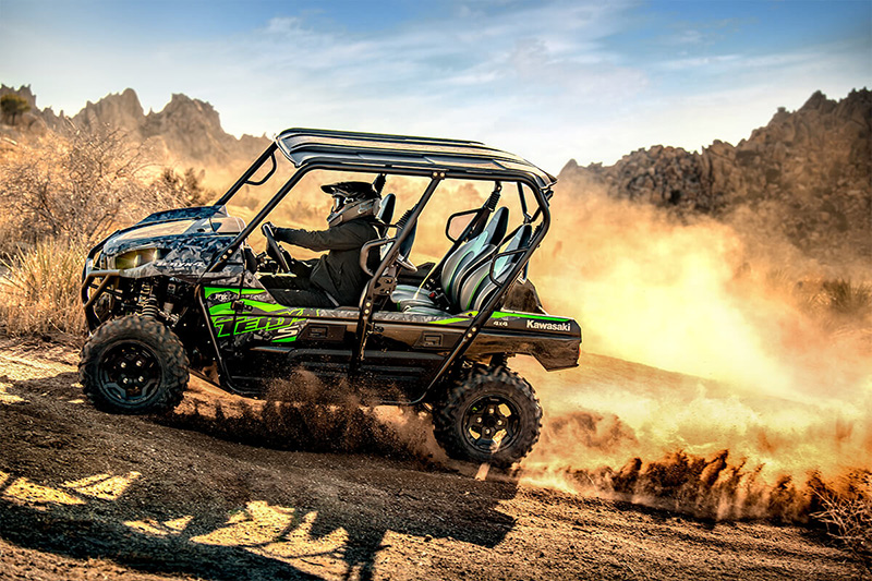 2021 Kawasaki Teryx4 S LE in San Jose, California - Photo 12