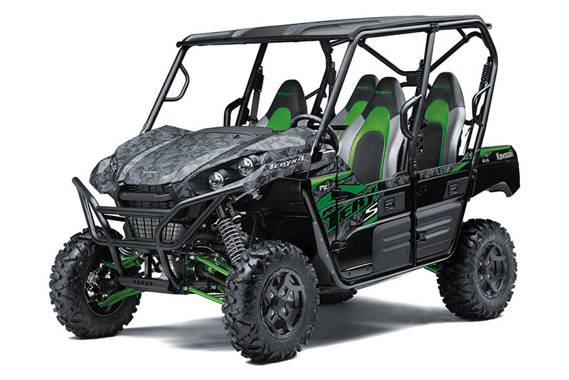 2021 Kawasaki Teryx4 S LE in O Fallon, Illinois - Photo 3