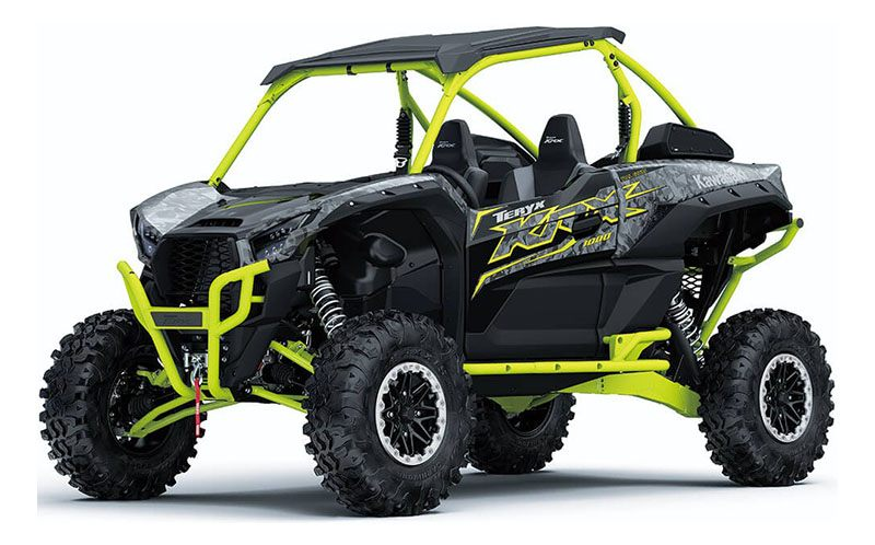 2021 Kawasaki Teryx KRX 1000 Trail Edition in San Jose, California - Photo 3