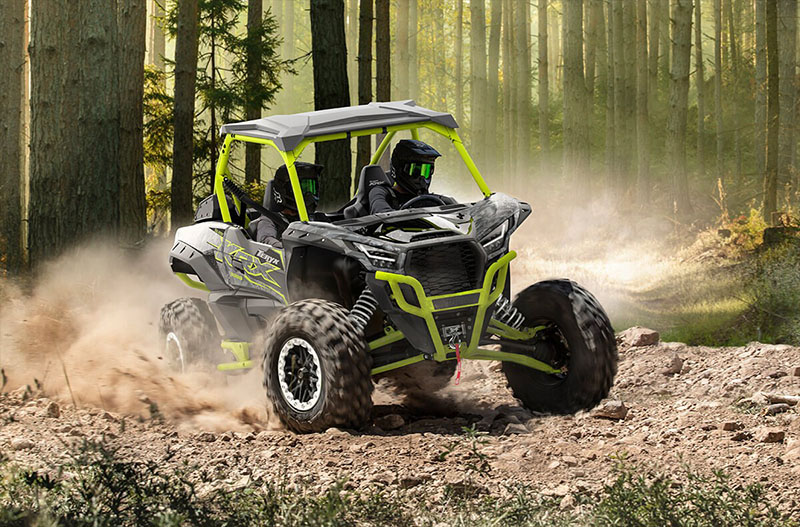 2021 Kawasaki Teryx KRX 1000 Trail Edition in Mount Pleasant, Michigan - Photo 4