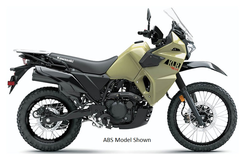 2022 Kawasaki KLR 650 in Amarillo, Texas