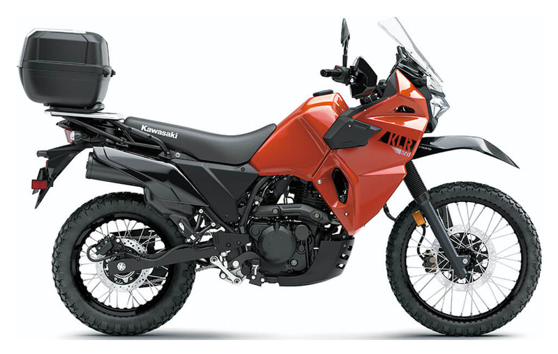 2022 Kawasaki KLR 650 Traveler in Winterset, Iowa