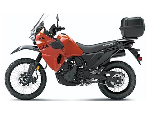 2022 Kawasaki KLR 650 Traveler in Bozeman, Montana - Photo 2
