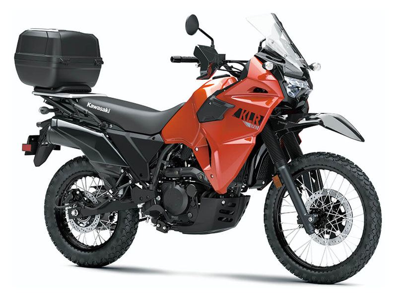 2022 Kawasaki KLR 650 Traveler in Hialeah, Florida - Photo 3