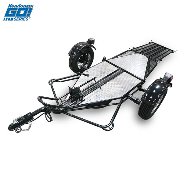 2018 Kendon Single Rail Ride-Up Folding Motorcycle Trailer (Go! Series) - BB107RU-GO in Springfield, Ohio