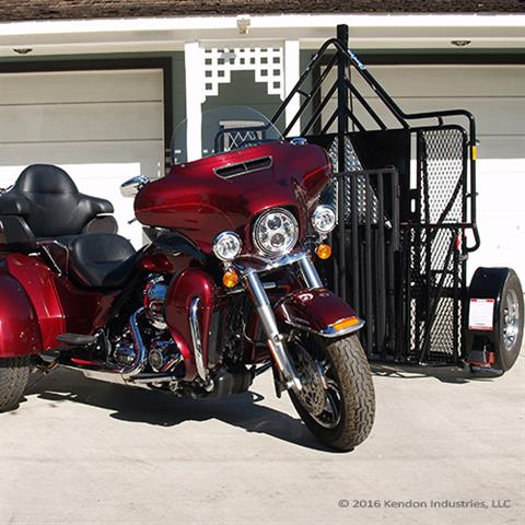 2018 Kendon Trike / Spyder Stand-Up Motorcycle Trailer - BB307RU in Marengo, Illinois
