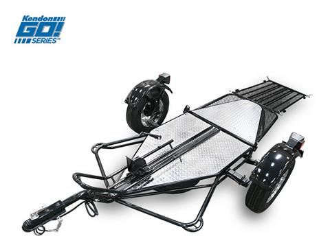 2019 Kendon Single Rail Ride-Up Folding Motorcycle Trailer (Go! Series) - BB107RU-GO in Springfield, Ohio