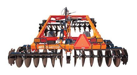 2017 KIOTI DH2064 64 in. Standard-Duty Disc Harrow in Pound, Virginia