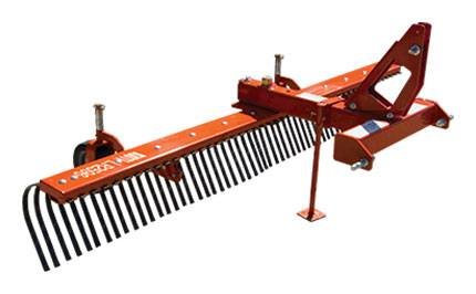 2017 KIOTI LR2572 Standard-Duty 72 in. Landscape Rake in Pound, Virginia