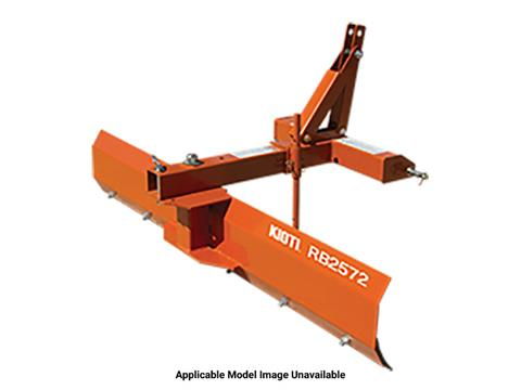2020 KIOTI RB2072 72 in. Standard-Duty Rear Blades in Rice Lake, Wisconsin
