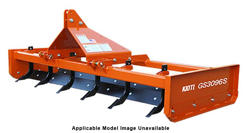 2020 KIOTI GS2060S 60 in. Standard-Duty Grading Scrapers with Scarifier in Brockway, Pennsylvania